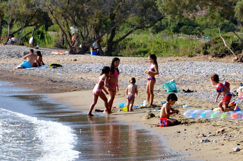 Kato Fana Beach South Chios Mastic mastiha Mastihohoria