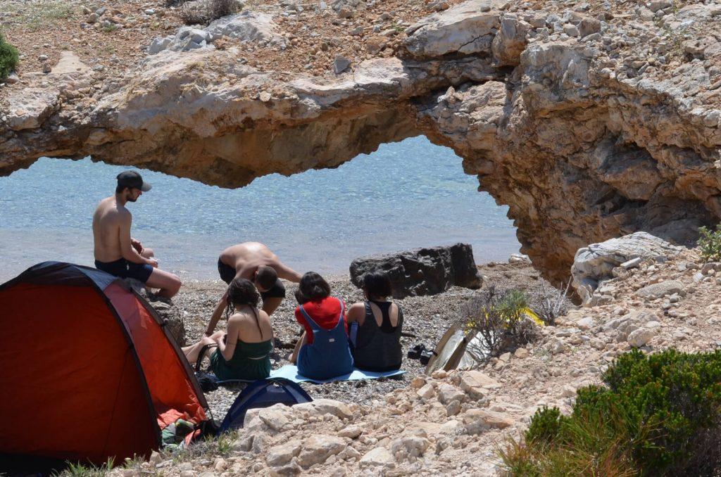 Tigani Beach North West Chios Mastic mastiha Mastihohoria Eborios Emborios